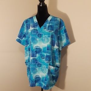Cherokee Scrub Top Genuine Comfort and Durability
